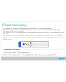 Wunschkennzeichen LRA Rosenheim