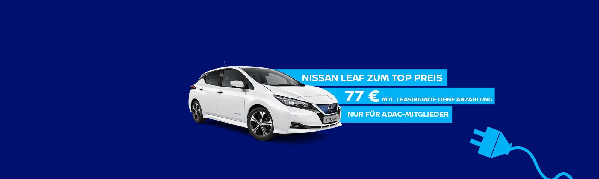 NISSAN LEAF – ZUM TOP PREIS!